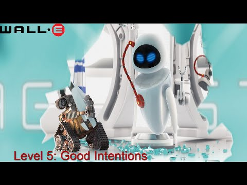 Wall-E (360, PS3, Wii.) - Part 5 - Level 5: Good Intentions 1/2