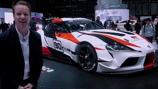 Toyota Supra Gazoo Racing Concept | Geneva Motor Show 2018 | Top Gear
