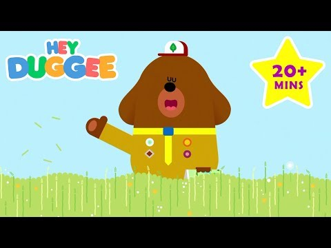 Outdoor Playing With Duggee! - 20 Minutes - Duggee's Best Bits - Hey Duggee