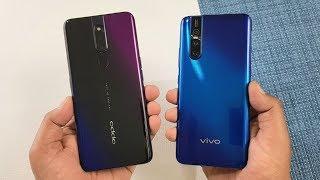Oppo F11 Pro vs Vivo V15 Pro SpeedTest & Camera Comparison