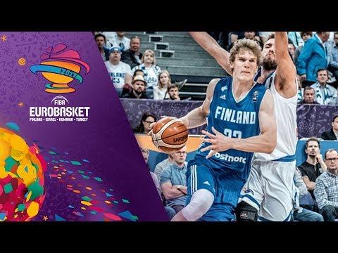 Ευρωμπάσκετ 2017: Ελλάδα-Φινλανδία 77-89. Tα highlights του αγώνα