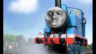 Biggie Smalls vs. Thomas The Tank Engine - Machine Gun Tank