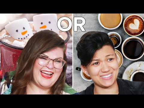 Kristin And Jen Do The Hardest 'Would You Rather?' Food Edition • Ladylike