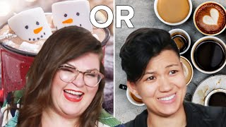 "Kristin And Jen Do The Hardest ""Would You Rather?"" Food Edition • Ladylike"