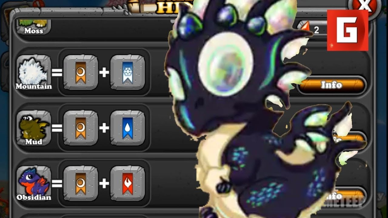 DragonVale: Official Breeding Combo - Opal Dragon [HD ...