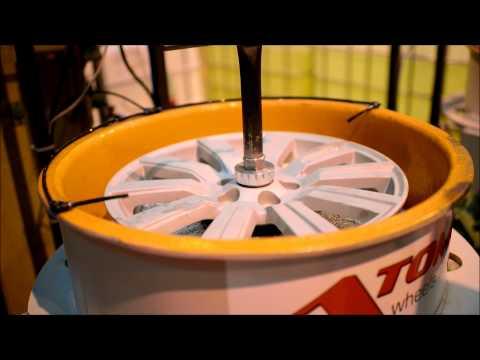Alloy Wheel Ball Polishing at Atomic Wheels
