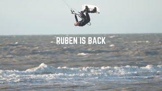 Ruben Lenten is Back - Kiteboarding 2021