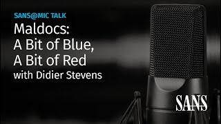 Maldocs: A Bit of Blue, A Bit of Red | SANS@MIC Talk