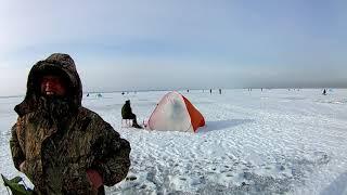 Оторвало людей на льдине # корюшка # Фин...