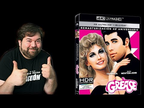 Unboxing y análisis extras GREASE  (4K UHD + BD)  [Blu-ray]