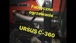 Montaż fabrycznego ogrzewania kabiny w Ursusie C-360 |GoPro vlog prezentacja|