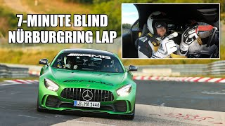 7 Blind Minutes of The Nürburgring Nordschleife in the AMG GT R