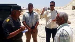 شاهد  أغرب طلب من  عامل بقناة السويس الجديدة  ورد فعل اللواء كامل الوزير عليه !!