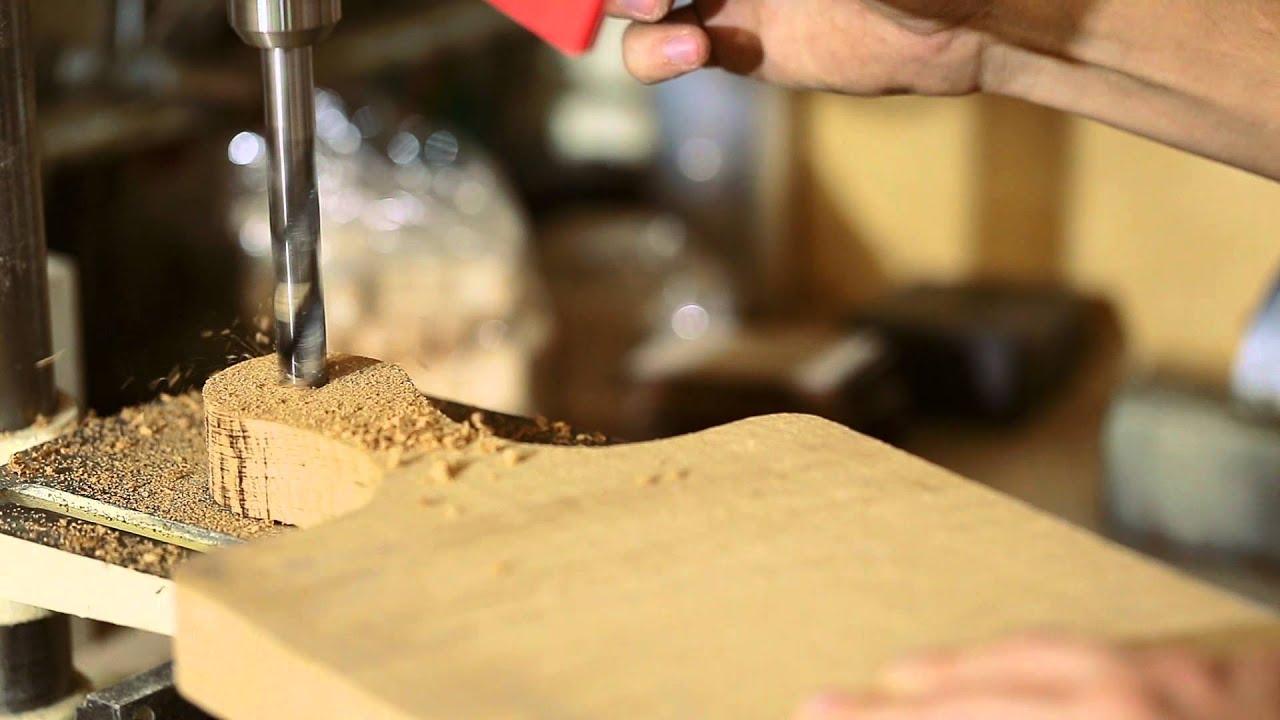 Изготовление разделочной доски из дуба