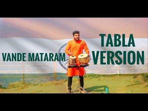 VANDE MATARAM | Maa Tujhe Salaam - A.R. Rahman | Tabla cover by Kaustubh Naik | Best Patriotic Song