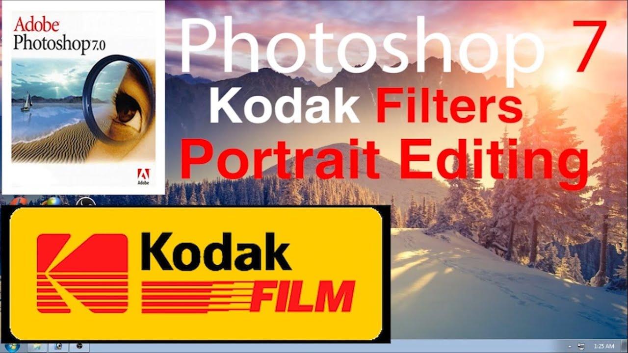 Photoshop Filters - KODAK Plugin Filter Tutorial