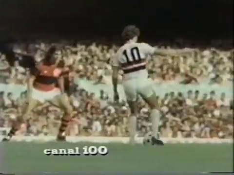 Flamengo x São Paulo - Camp. Brasileiro 1982