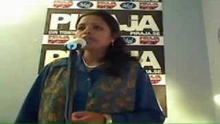 "Indian Lady Singing ""We Will Rock You"""