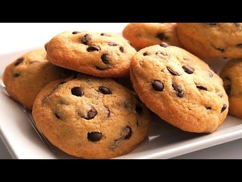 Galletas con Chips de Chocolate   Chocolate Chip Cookies