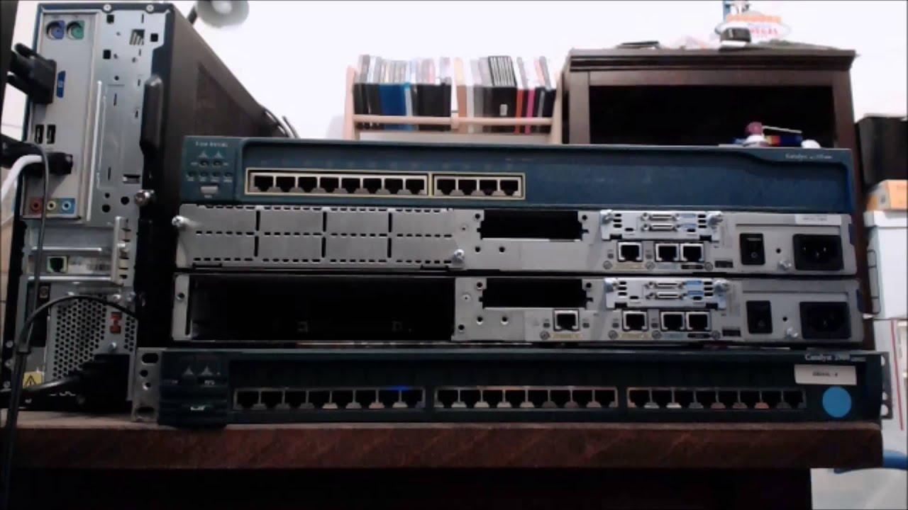 CCNA Tutorial: Setting up a Cisco CCNA Lab
