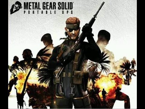 Metal Gear Solid Portable Ops! ROY CAMPBELL!! Part 1