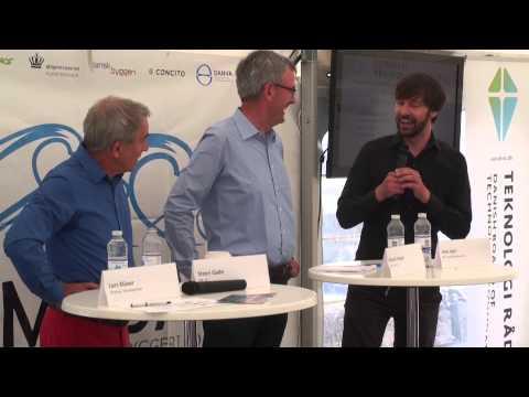 Folkemødet Bornholm 2014: Klimadag- Steen Gade (SF), Henrik Høegh (V) og Jens Joel (S) - debat