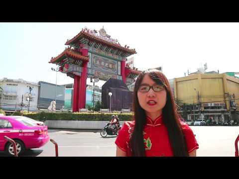 Yating on Tour in China Town (Yaowarat)