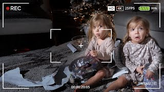 HIDDEN CAMERA CATCHES TWIN GIRLS OPENING THEIR CHRISTMAS GIFTS EARLY!