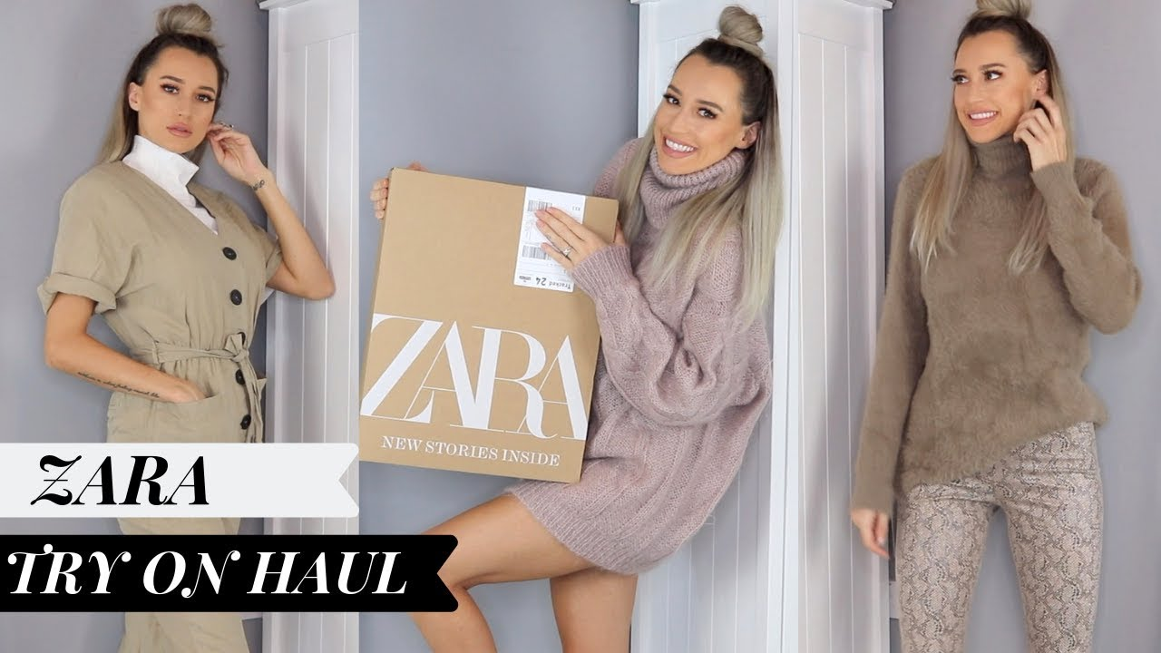 [VIDEO] – ZARA HAUL AUTUMN/WINTER | NOVEMBER 18 | OUTFIT TRY ON