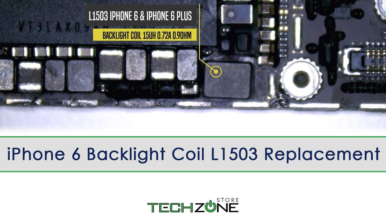 pretty nice 2b50b b3463 iPhone 6 & iPhone 6 Plus Backlight Coil