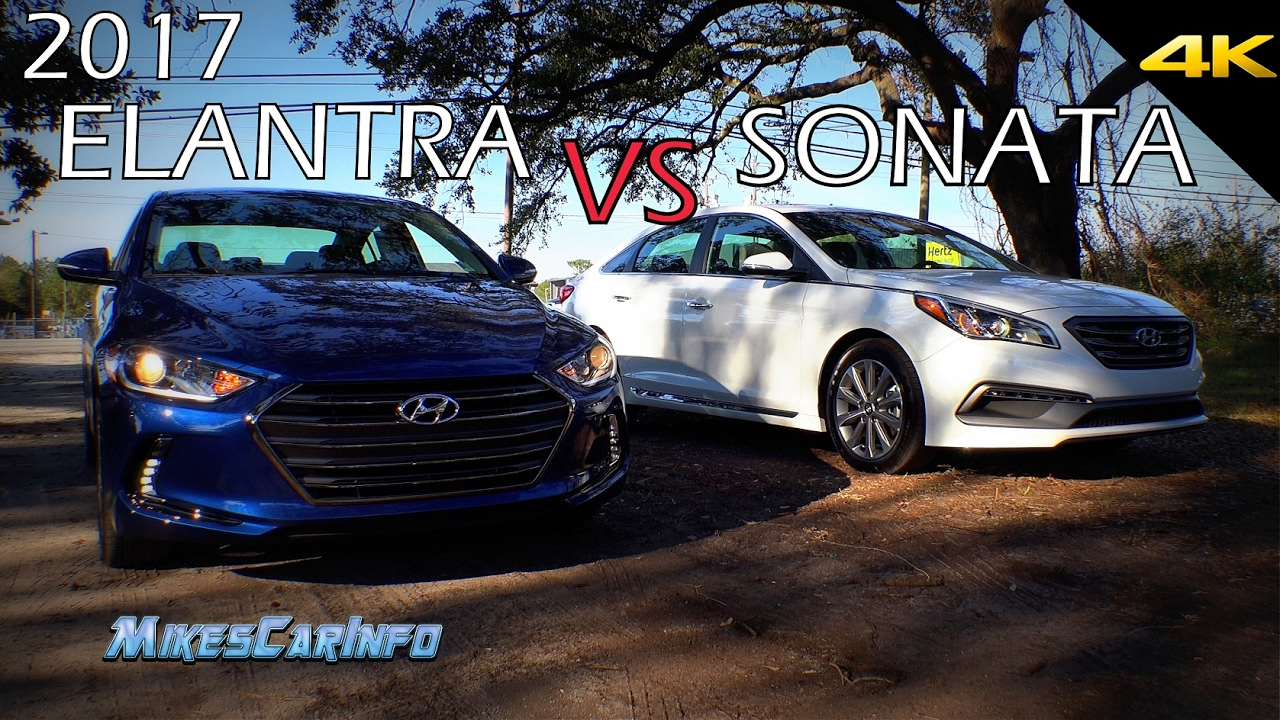 Sonata Vs Elantra >> Ultimate Comparison 2017 Hyundai Elantra Vs Sonata
