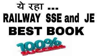 Railway SSE and JE  for Best book 2017 Video