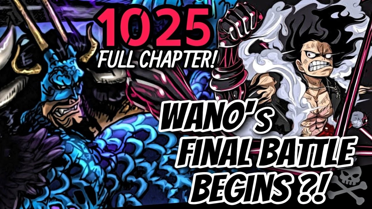 Download ONE PIECE 1025: FINAL ROUND!!! HULING PAGHAHARAP NI LUFFY & KAIDO?!   NEXT STRAWHAT CREW REVEALED?!