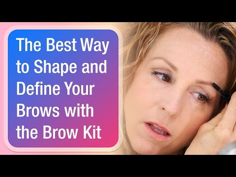 The Best Way to Shape and Define Your Brows with the Brow Kit