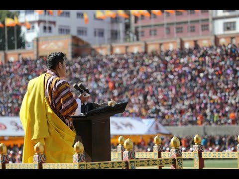 Royal Address on His Majesty Drukgyal Zhipa