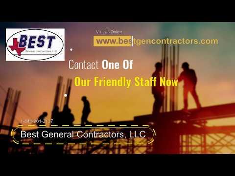 General Contractors Dallas TX