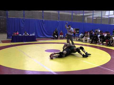 2015 Canada West Championships: 120 kg Luke Launderville vs. Manheet Kahlon