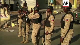 Haiti: election protest turns violent