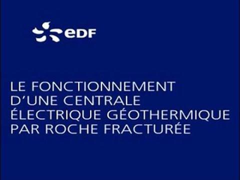 le fonctionnement d une centrale 233 lectrique g 233 othermique par roche fractur 233 e