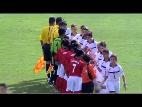 Indonesia vs USA - Ranking Match 13/14 - Full Match - Danone Nations Cup 2015