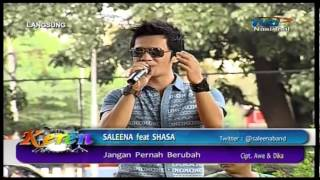 SALEENA BAND Feat SHASA Live At Keren (21-06-2013) Courtesy TVRI
