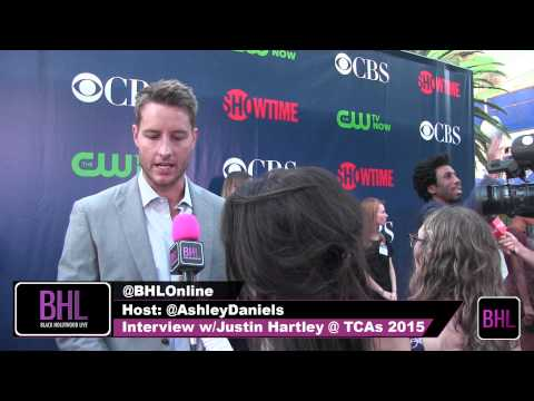 Justin Hartley Interview at THE CW, CBS & SHOWTIME TCAs 2015
