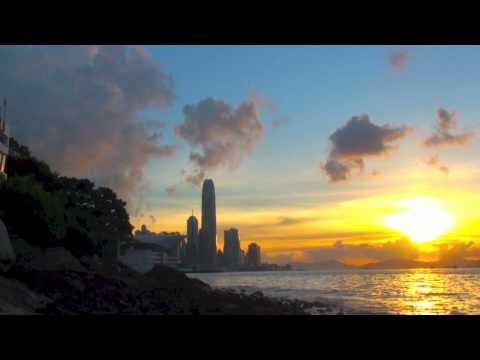 Hong Kong - Harbour Sunset