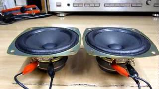 test Pioneer Speaker unit W10DC61-52D 10cm (Bass I Love You)