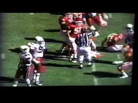 1995 Chiefs Cardinals highlights  Bono Bootleg