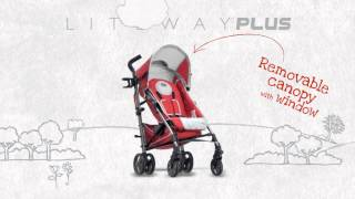 Коляска Chicco Lite Way Top stroller(Коляска-трость Lite Way Top stroller от итальянского производителя Chicco., 2013-06-13T15:22:46.000Z)