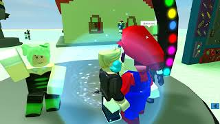 Roblox - Christmas Party With Squid Sisters - John The Hero's Adventure