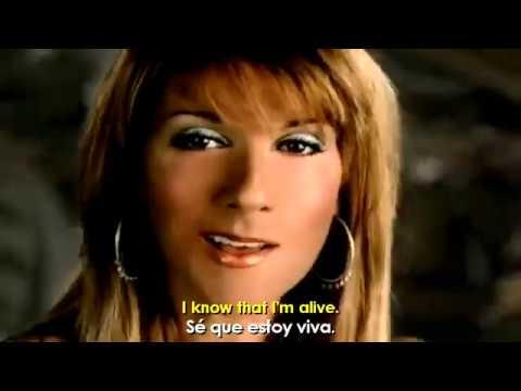 Celine Dion - Im Alive (Letra Traducida)