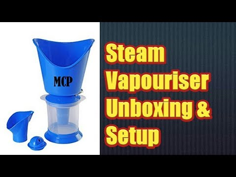 Steam Vaporizer 3 in 1 |  Vaporizer from Amazon