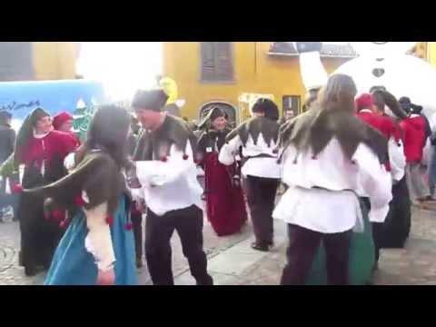 Batticulo (Campania) al Villaggio Natalizio e gli Elfi Ballerini (Mapello, 7 dicembre 2014)